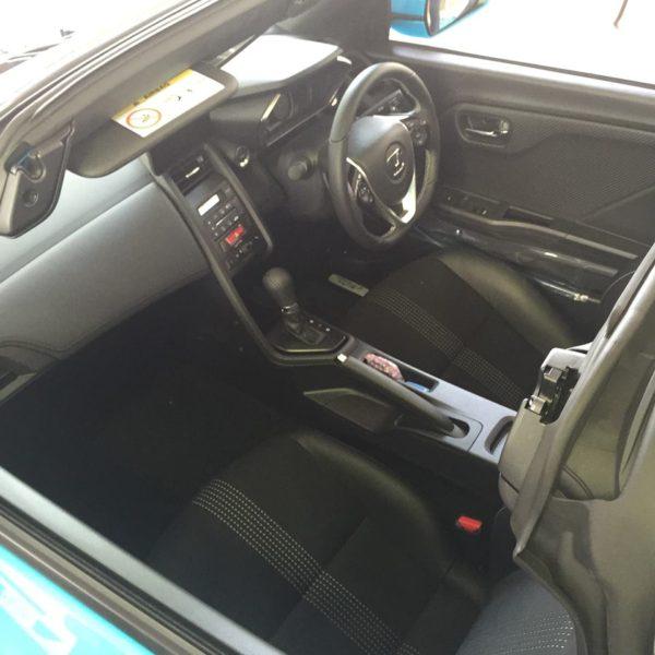 S660の車内