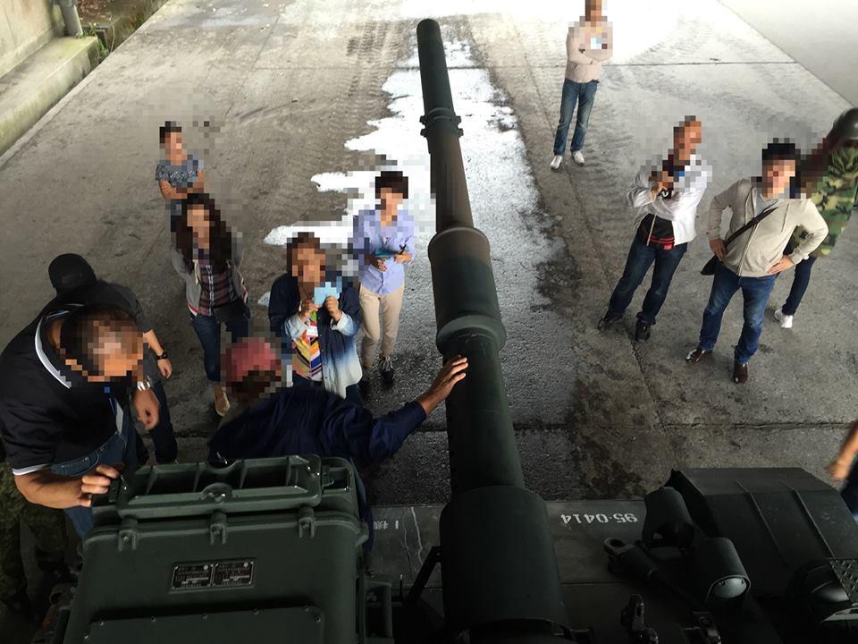 戦車の砲台