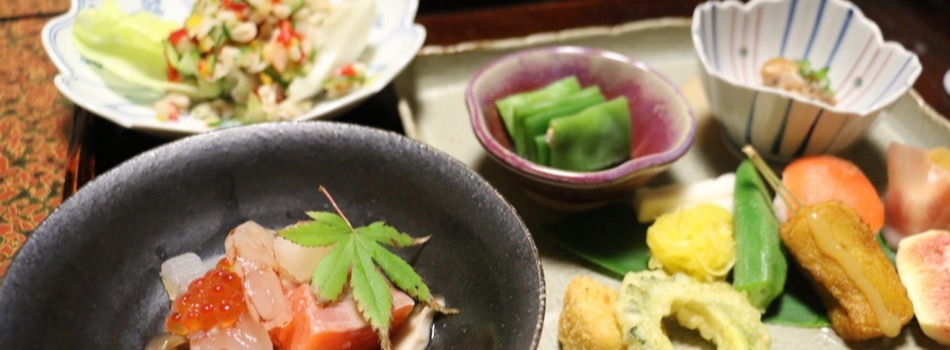 天川荘の料理