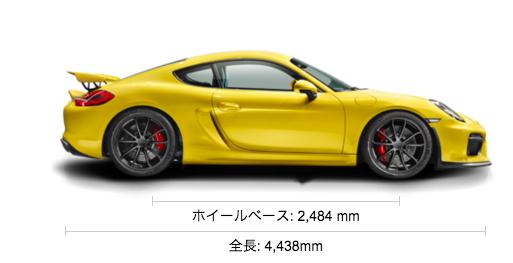 Porsche ケイマン GT4 ポルシェジャパン
