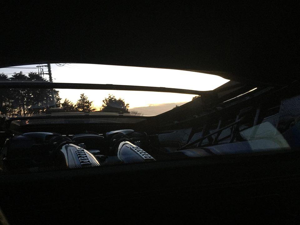 430スクーデリアの後方視界