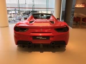 フェラーリの試乗