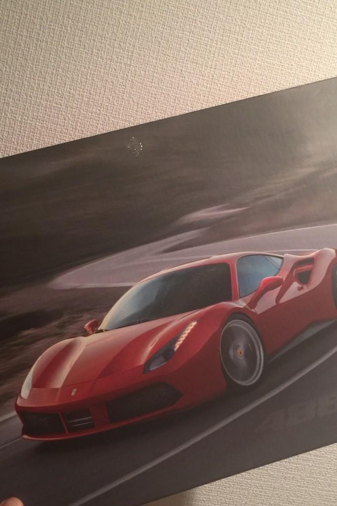 フェラーリのカタログ