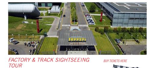 Factory   Track Tour   Ferrari Museum Maranello