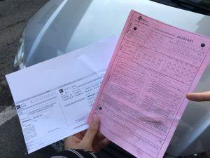 イタリアの交通違反の罰金