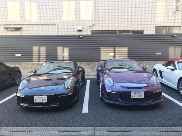 991GTSとGT3RS